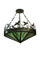 Ducks in Flight Pendant Light Fixture