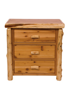 Cedar 3 Drawer Chest