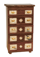 Adirondack Five Drawer Chest