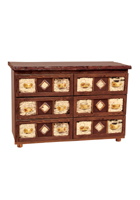 Adirondack Six Drawer Dresser