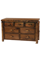 Cedar 7 Drawer Dresser