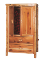 Cedar 2 Drawer Wardrobe