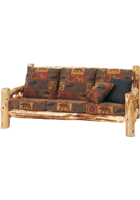 Cedar Log Frame Sofa