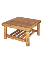 Cedar Open Coffee Table