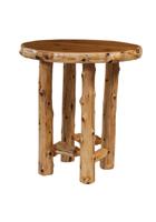 Cedar Round Pub Table