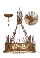 Ducks in Flight Chandelier