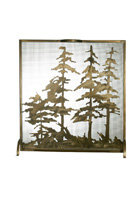 Tall Pines Fireplace Screen