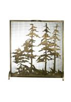 Tall Pines Fireplace Screen
