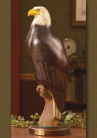 &quot;From the Forge of Freedom, Wild Spirits Soar&quot; Life-size Eagle