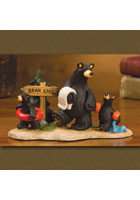 &quot;Bear Lake&quot; Bearfoots Figurine