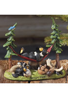 Forest Nap Bearfoots Figurine