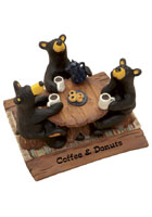 &quot;Coffee and Donuts&quot; Beafoots Figurine