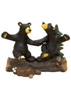 &quot;Dancing Bears&quot; Bearfoots Figurine