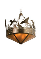 Ducks in Flight Pendant Light