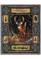 Deer Lodge Throw