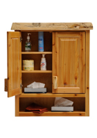 Cedar Toilet Topper Cabinet