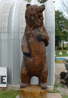 Grizzly Chainsaw Carving