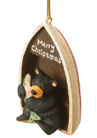 Boat Bearfoots Ornament