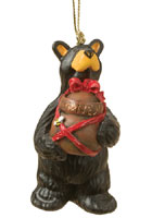 Honey Present Bearfoots Ornament