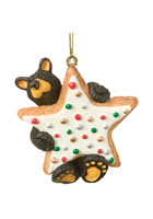 Cookie Star Bearfoots Ornament