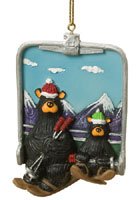 Chairlift Bearfoots Ornament