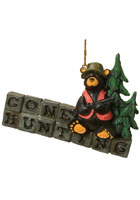 Gone Hunting Bearfoots Ornament