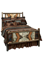 Hickory Adirondack Traditional Bed