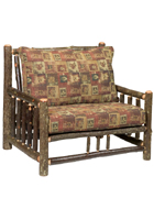 Hickory Log Frame Chair-and-a-Half