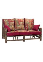 Hickory Log Frame Sofa
