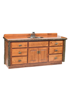 Hickory Bathroom Vanity