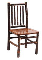Hickory Spoke Back Side Chair
