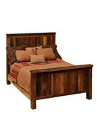 Barnwood Traditional Bed