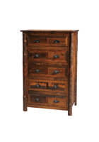Barnwood 5 Drawer Chest