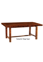 Barnwood Farmhouse Dining Table Standard Height