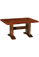 Barnwood Harvest Dining Table Counter Height