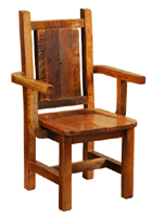 Barnwood Artisan Dining Arm Chair