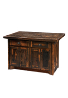 Barnwood Kitchen Island