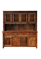 Barnwood Buffet and Hutch