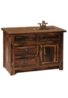 Barnwood Bathroom Vanity