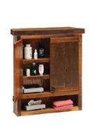 Barnwood Toilet Topper Cabinet