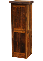 Barnwood Linen Cabinet