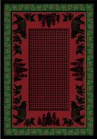 Bear Family - Multi Area Rug