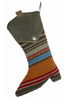 Tombstone Christmas Stocking