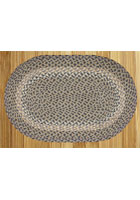 Blue/Natural Braided Rug