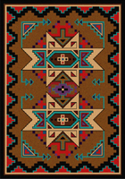 Deep Gorge Bright Area Rug