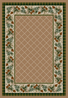 Evergreen Area Rug - Light Sandstone