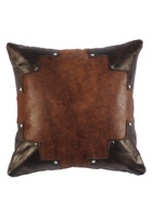 Branch Leather Pillow