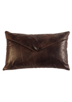 Timber Leather Pillow