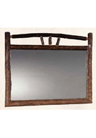 Wagon Wheel Landscape Mirror