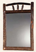 Wagon Wheel Portrait Mirror